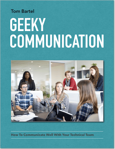 Geeky Communication book cover