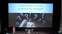 Challenges of a New Engineering Manager video